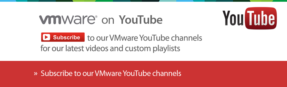 VMware YouTube Channel Directory