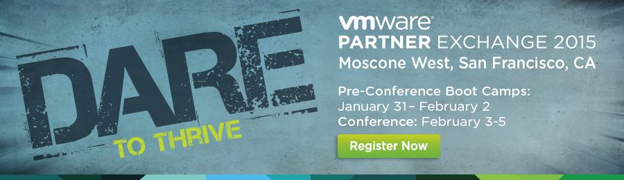 VMware Partner Exchange 2015 - Register Now